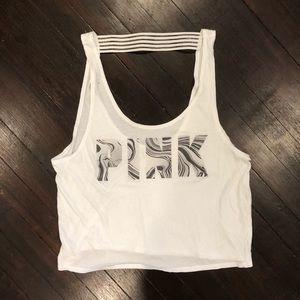⚡️4 for $30 - Victoria's Secret Pink Crop Top Tank